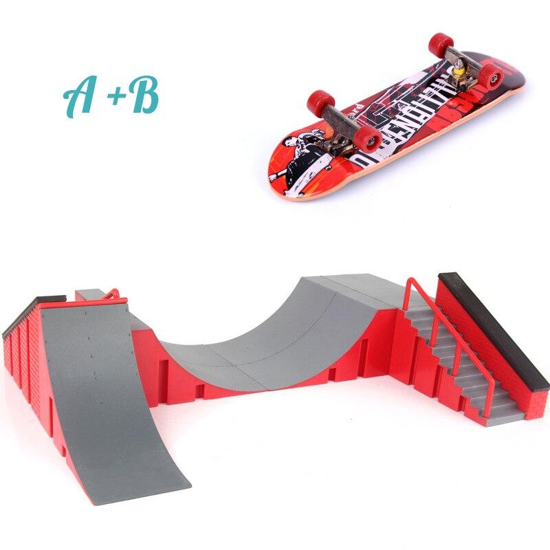 1pc mini skate brinquedo skate parque para