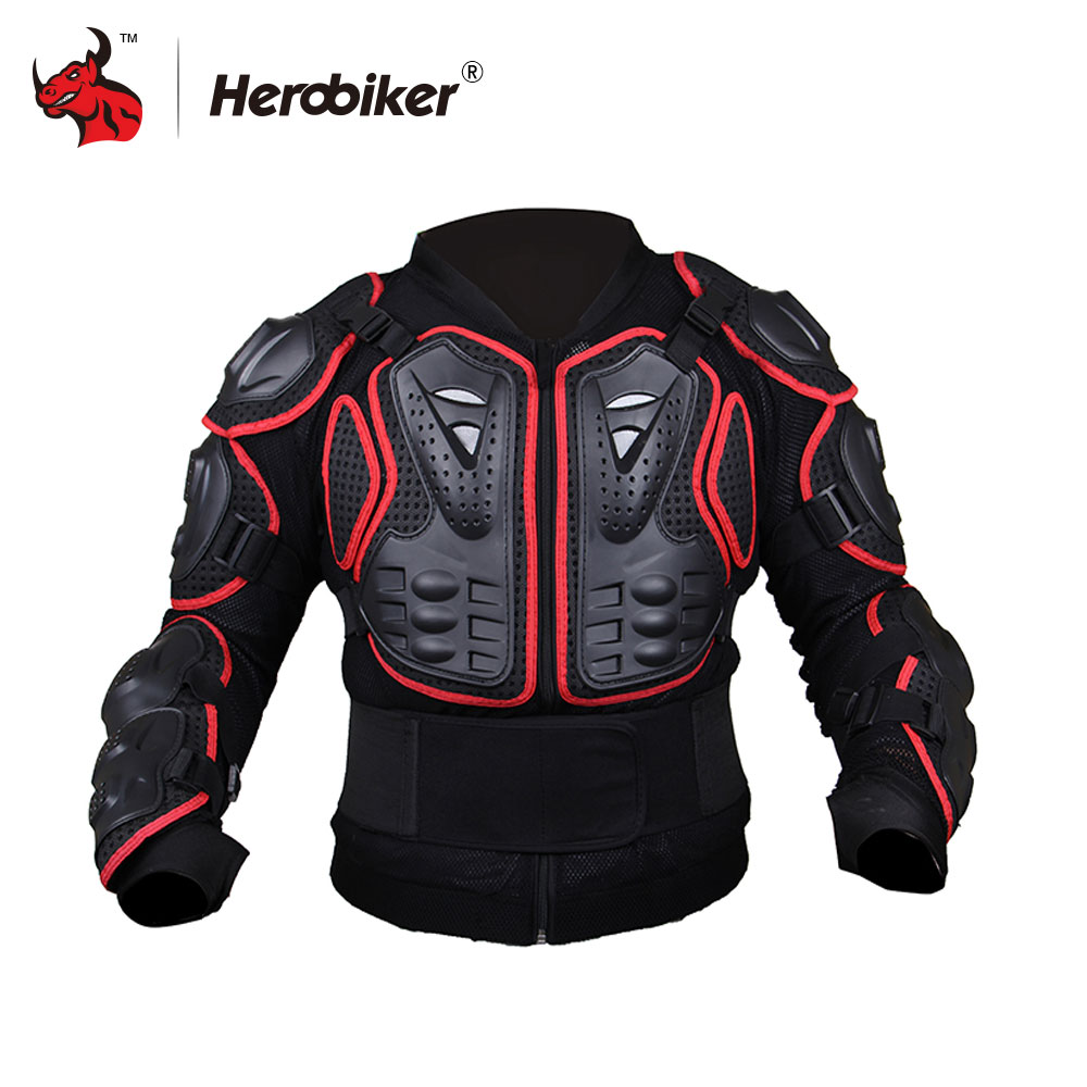 HEROBIKER Motorcycle Jacket Protective Gear Motorcycles Armor Protection Motocross Clothing Jacket Protector S-4XL herobiker armor removable neck protection guards riding skating motorcycle racing protective gear full body armor protectors
