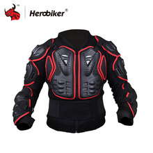 HEROBIKER Motorcycle Jacket Protective Gear Motorcycles Armor Protection Motocross Clothing Jacket Protector S 4XL
