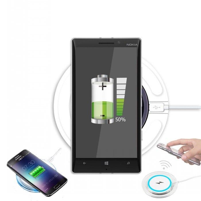 Para lumia 930 casos cargador placa de carga cargador inalámbrico móvil accesori