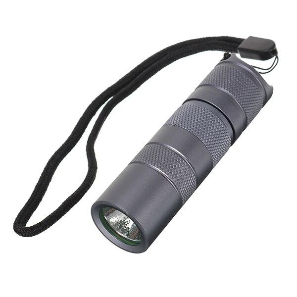 Aluminum Alloy S2+ 18350/16340 Version LED Flashlight Host For DIY