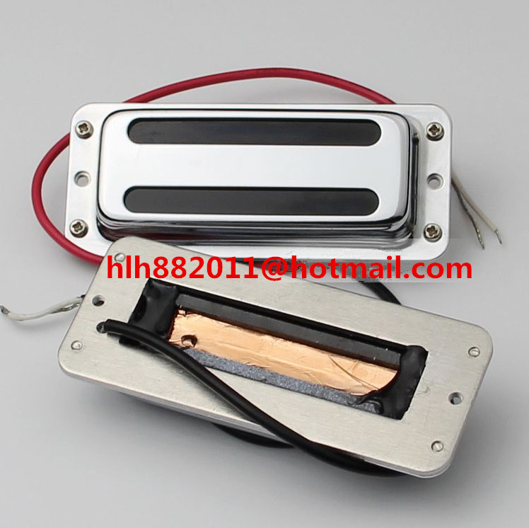 free shipping new electric  guitar semi-closed pickup in chrome  FH-2 free shipping new electric bass guitar active pickup electronic circuit amplifier circuit se2 a xl 2