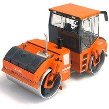 1:50 Alloy Diecast Rolamento Duplo Tambor Rolo de Estrada Engenheiro de Construção do carro brinquedos para crianças Presente