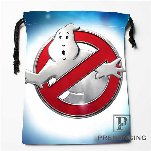 Custom Drawstring Bags Ghostbusters Printed Receive Bag Compression Type Bags Size 18X22cm 171203-11#04