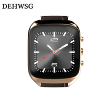2017 3G WiFi X01S MAX Android Smartwatch MTK6580 Phone Bluetooth Smart Watch 1.3GHz Dual Core IP67 GPS For xiaomi iphone huawei