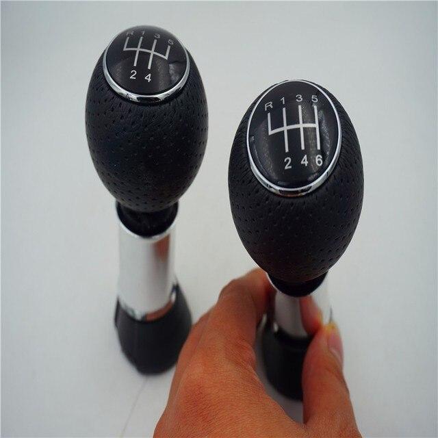 Poignée en cuir PU pour Audi A3 S3 VW VOLKSWAGEN PASSAT | Livraison gratuite, bouton de vitesse 5 / 6 vitesse, barre de poignée pour Audi A3 S3, style de voiture 13MM