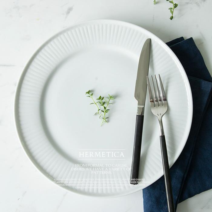 achetez en gros blanc assiette en ligne des grossistes. Black Bedroom Furniture Sets. Home Design Ideas