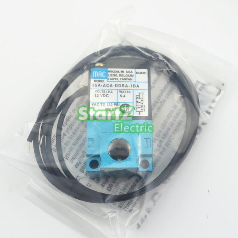 MAC 3 Port Electronic Boost Control Solenoid Valve DC12V 5.4W 35A-ACA-DDBA-1BA mac 3 port electronic boost control solenoid valve dc24v 12 7w 35a aaa ddfa 1ba clsf