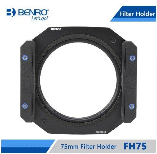 Benro Single Micro Single SLR Camera FH75 Filter Holder штатив benro t 800ex
