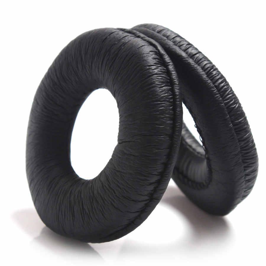 2ชิ้น/เซ็ต70มิลลิเมตรสีดำฟองน้ำชุดหูฟังแผ่นหูฟังหูฟังโฟมปกสำหรับหูฟังMDR-V150 V250 V300 ZX100 ZX110