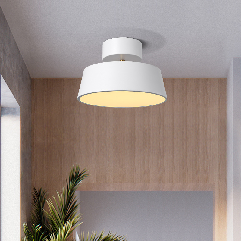 JAXLONG Modern Foyer Stairwell Ceiling Light Personality hangling lamp Living Room lustre Round Bedroom LED Lighting Fixtures