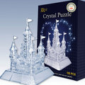 Three-dimensional crystal dream puzzle 3d futhermore plastic educational toys