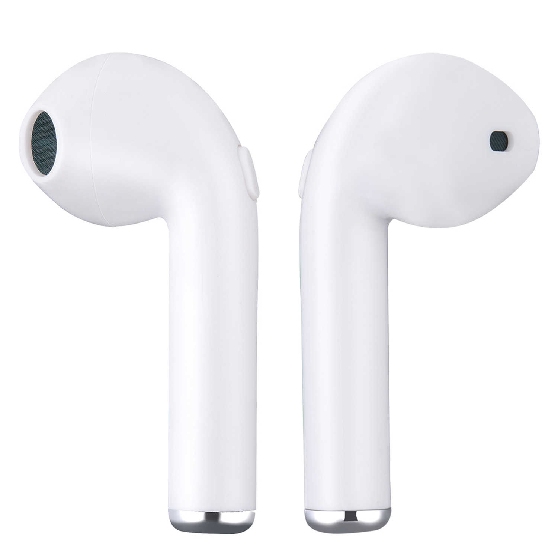 I7 I7S TWS słuchawki Bluetooth bezprzewodowe słuchawki douszne przenośny zestaw słuchawkowy słuchawka do telefonu zestaw głośnomówiący z mikrofonem dla wszystkich smartfonów fone de