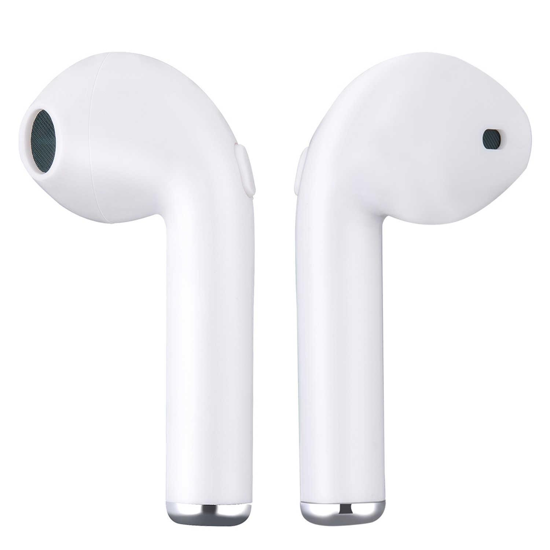 I7 I7S Tws Bluetooth Headphone Nirkabel Earbud Portabel Headset Ponsel Earphone Handsfree dengan MIC untuk Semua Ponsel Pintar Fone De