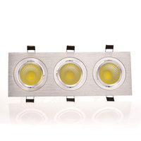 Grille Led Lamp One Head 3W 2 Head 6W 3 Head 9W Warm White Cool White