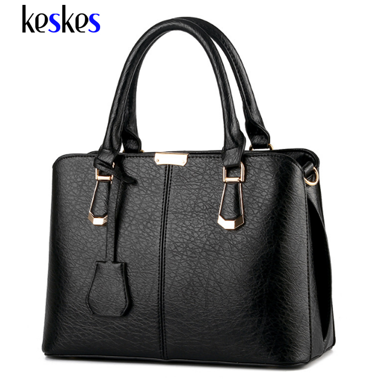 Women Leather Handbags Hot Medium Shoulder Bags Luxury Women Messenger Bags 2017 Famous Brands Female Tote Women Bag Bolsa C1314