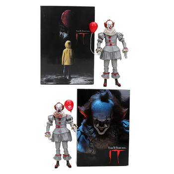 7 Inch Neca Stephen King 2017 Ultimate Pennywise PVC Action Figure Collectible Model Toy Natal Hadiah