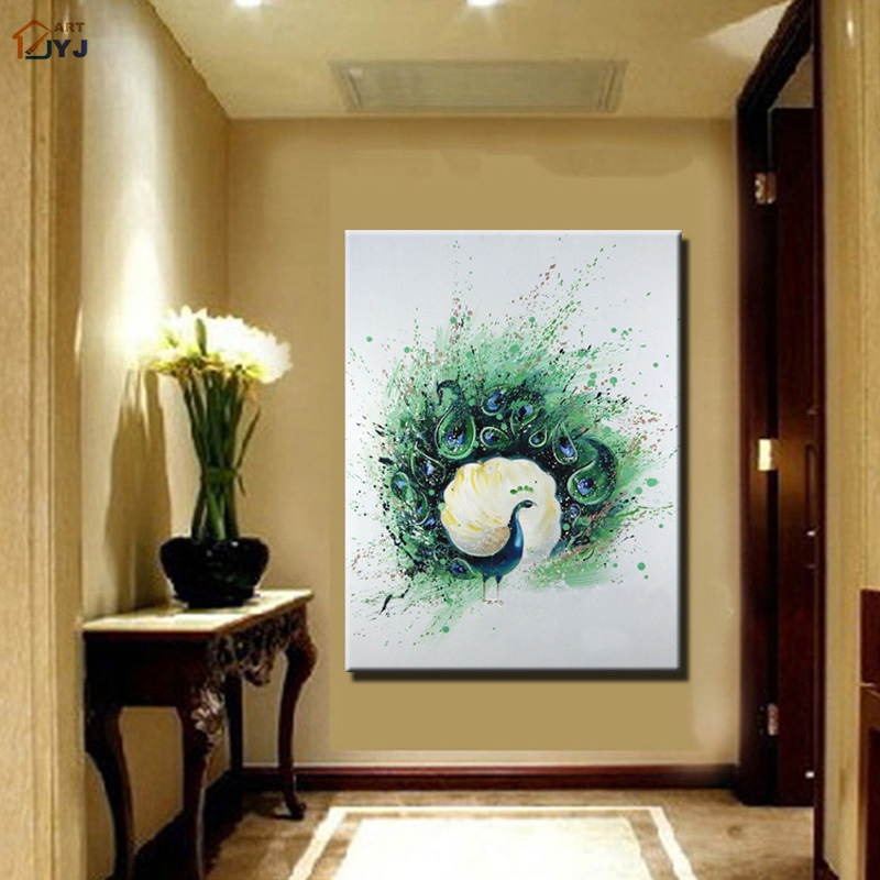 Turquoise abstract art promotion shop for promotional turquoise abstract art on for Turquoise wall decor living room