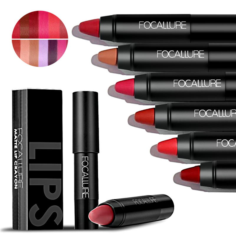 FOCALLURE Matte Lipstick Pen Waterproof Long