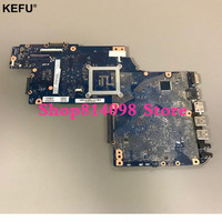 KEFU H000052730 Main Board Fit For Toshiba Satellite C850 C855 L850 L855 Laptop Motherboard HM70 DDR3 Free cpu