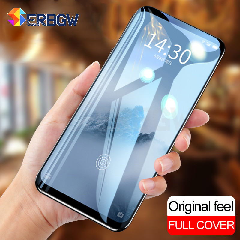 Full Cover Tempered Glass On The For Meizu M15 15 16 Plus 15 Lite 16th 16X Meizu X8 M6S M6T M6 Note Screen Protective Glass Film