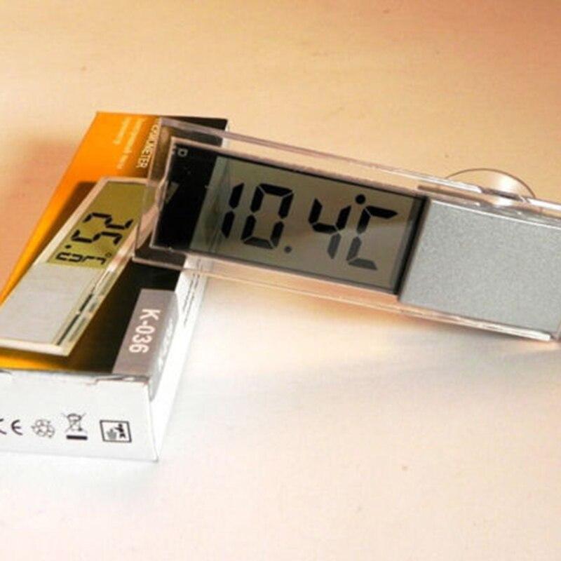 Multi Function Lcd 3D Crystal Digital font b Electronic b font Temperature Measurement Fish Tank Aquarium