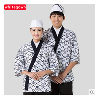 Cook Suit Japanese Food Sweets Work Wear Restaurant Uniforms Kimono Sushi Chef Uniform Korea Jacket