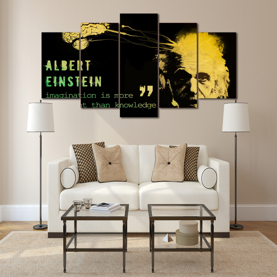 c1fcd4aec HD Printed einstein saying Group Painting Canvas Print room decor print  poster picture canvas Free shipping ny-310