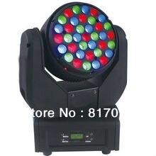 Venta 37X3W LED Beam Cabeza Movil Iluminacion Para Eventos Fiestas Luces Nueva Cabezas Moviles LED Etapa Sonido Luz