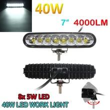 40W Flood Spot Combo Car LED