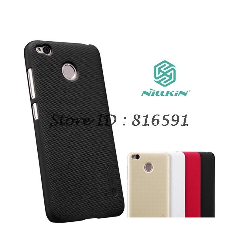 Nillkin Xiaomi Redmi 4X Case 5.0 inch Frosted Shield Plastic Hard Back Cover Case For Xiaomi Redmi 4X Pro Gift film