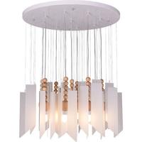 Işıklar ve Aydınlatma'ten Kolye ışıkları'de Ülke Akrilik LED Asılı Lamba Modern Kolye aydınlatma armatürleri Ahşap Oturma Odası Kolye Lambaları Yemek Odası Bekleyen Aydınlatma