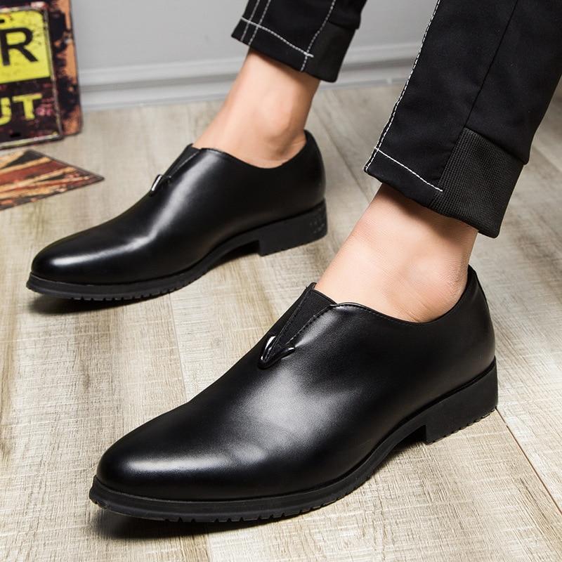 En Mode Hommes Cuir Chaussures Designer Haute MarqueMpx8116118 Noir De Confortable Printemps Qualité POkZXiu