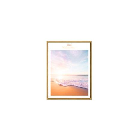 Nordic Orange Landscape Combination Modular Print Picture Wall Art Canvas Paintings Decoration for Living Room No Framed in Painting Calligraphy from Home Garden