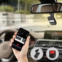 A305 Car DVR WiFi Dashboard Full HD1080P Car Camera 2.45 inch G Sensor Video Recorder 170 Angle Dash Cam WDR Loop Recording