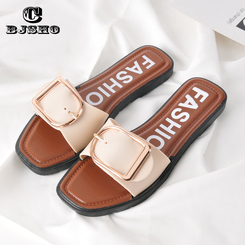 CBJSHO 2017 Summer Women Slippers Non-slip Basic Sides Home Slippers Woman Flat Shoes Casual Women's Beach Flip Flops