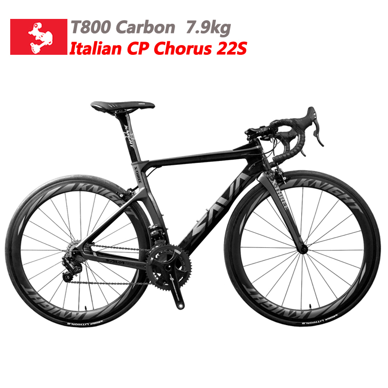Carbon Fiber Road Bike Carbon Bike Racing Speed Bike Full Carbon Bicycle Road Bcycle with CAMPAGNOLO CHORUS 22 Speed