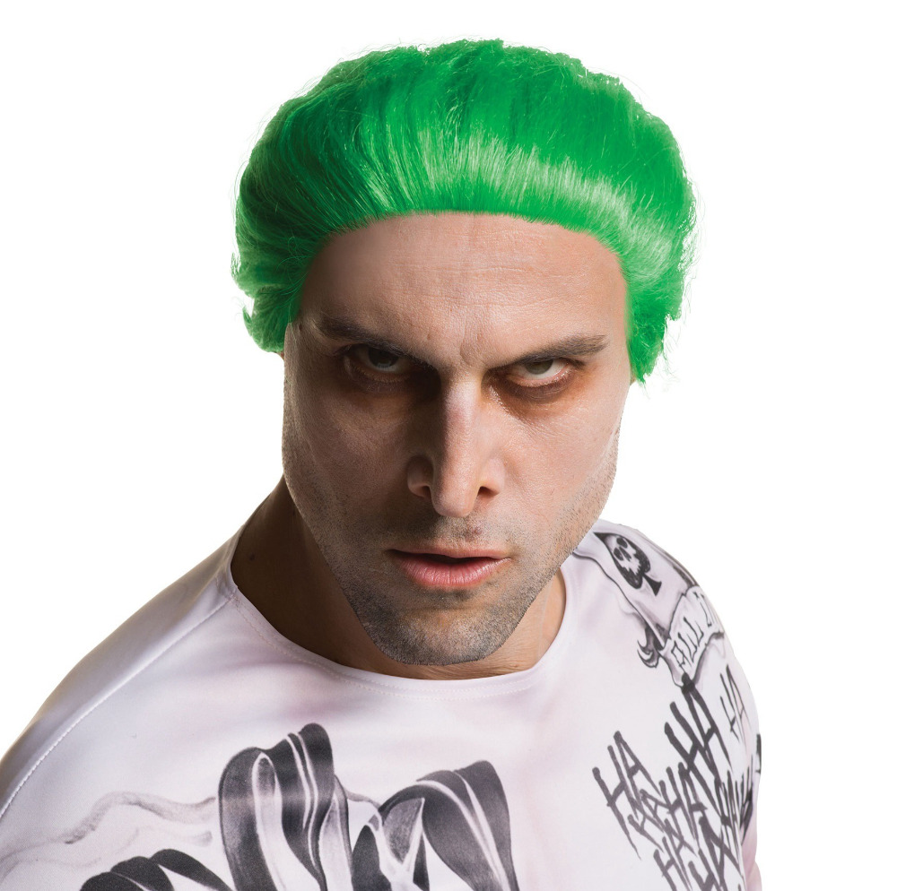 Suicide Squad The Joker Green Wig Jared Leto Cosplay Wig Costumes Party Halloween Cosplay Costume Wig