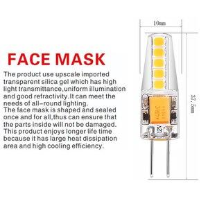 Image 3 - 20 Pack G4 Led lampe 12V AC DC 2W Lampadas LED G4 Lampe 4000K Lampe Bombillas 10LED 2835SMD Ersetzen 20W G4 Halogen Für Kronleuchter