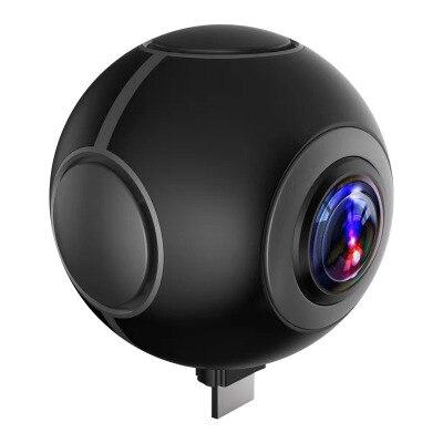 KaRue 360 caméra 360 caméra panoramique VR caméra 210 degrés double grand Angle objectif Fisheye 360 caméra pour smartphone Android