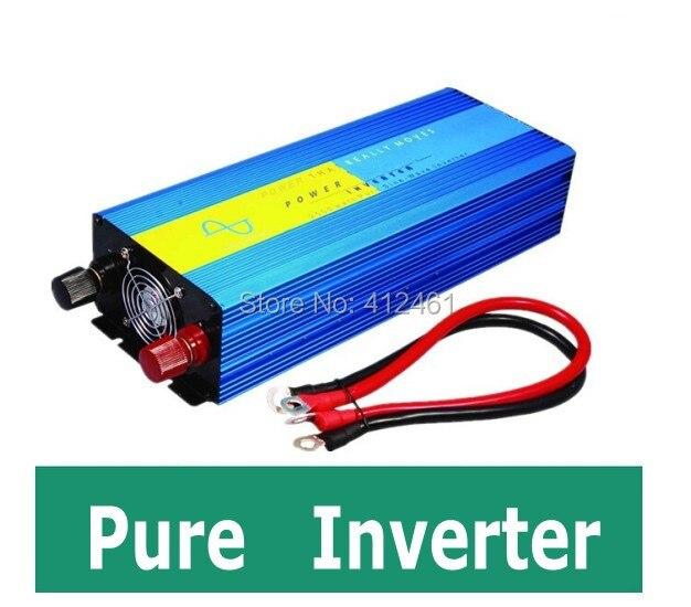 zuivere sinus converter 1200w inverter pure sine wave max 2400w power DC 12V 24V 48V to AC100V-240V for solar wind home use 5000w pure sinus omvormer pure sine wave inverter 5000w 24v to 120v pv solar inverter power inverter car inverter converter