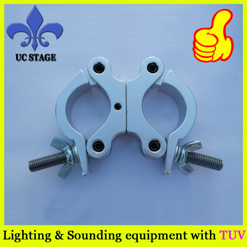 truss lighting clamp/50mm pro swivel truss clamp/truss clamp with TUV 290mm aluminum stage truss structure event lighting spigot truss with black coated