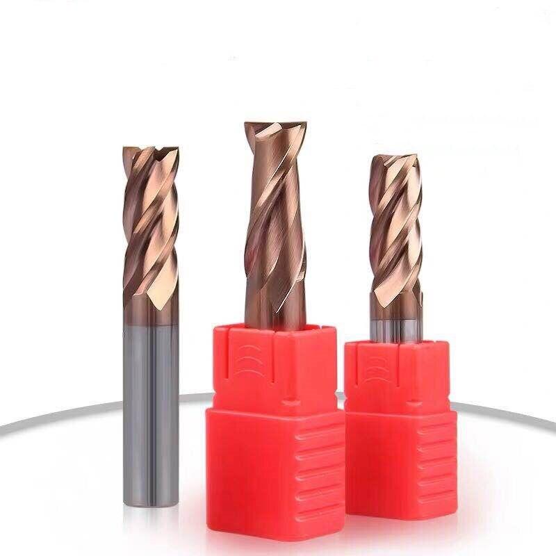 Carbide milling cutter 14mm 16mm 18mm 20mm 2 slot plus long flat tungsten carbide milling cutter cnc cone wood milling cutter|Milling Cutter| |  - title=