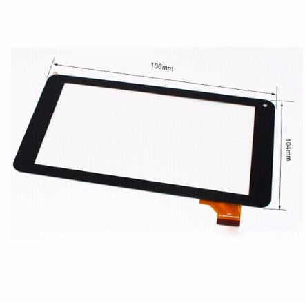 New replacement Capacitive touch screen touch panel digitizer sensor For 7 inch Tablet PC YLD-CEG7079-FPC-A1 HXS. Free Shipping black new 7 inch tablet capacitive touch screen replacement for 80701 0c5705a digitizer external screen sensor free shipping