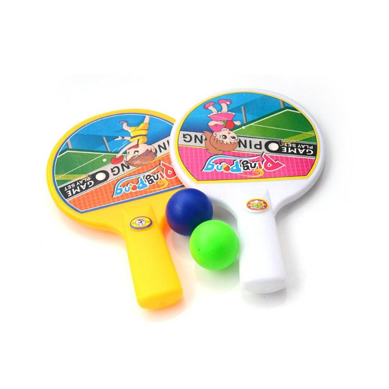 1set Portable Mini Kids Pingpong Balls Children Sports Education Toys Table Tennis with Balls