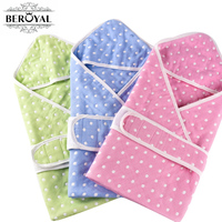 New 2016 Baby Swaddle 1PC Cotton Six Layers Gauze Kids Blanket Super Soft Newborns Sleeping Bag