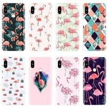 Fashion Flamingo Phone Case For Pocophone F1 Xiaomi Redmi No