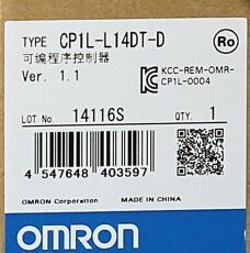 CP1H-L14DT-D for PLC Module well tested working