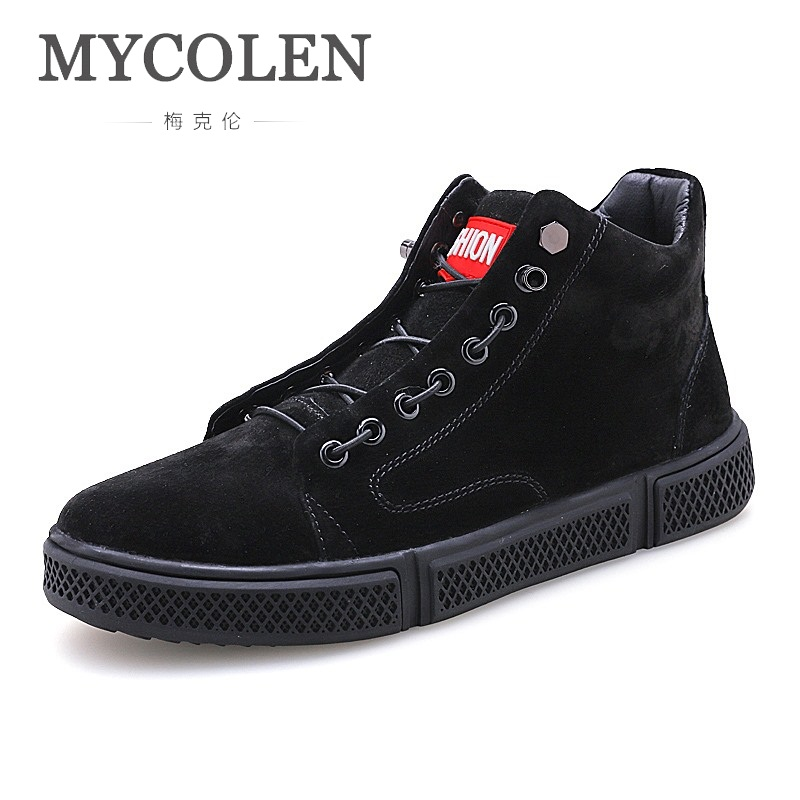 MYCOLEN Mens Casual Shoes Fashion High Top Men Shoes Men Casual Shoes Luxury Designer For Male Footwear Sepatu Casual Pria casual casual инсайд