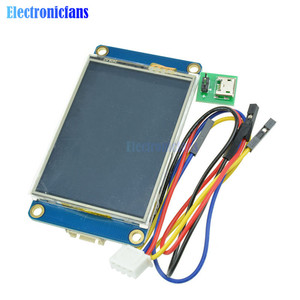 """Image 3 - 2.4"""" 2.4 Inch TFT 320 x 240 Resistive Touch Screen UART HMI LCD Module Display for Arduino Raspberry Pi TFT English Nextion"""